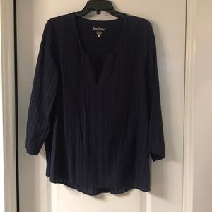 Lilly top - navy
